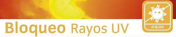 estores ecológicos, bloqueo rayos UV