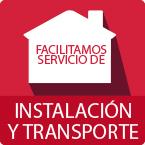 Facilitamos servicios de instalación y transporte