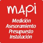 mapi: medición, asesoramiento, presupuesto e instalación
