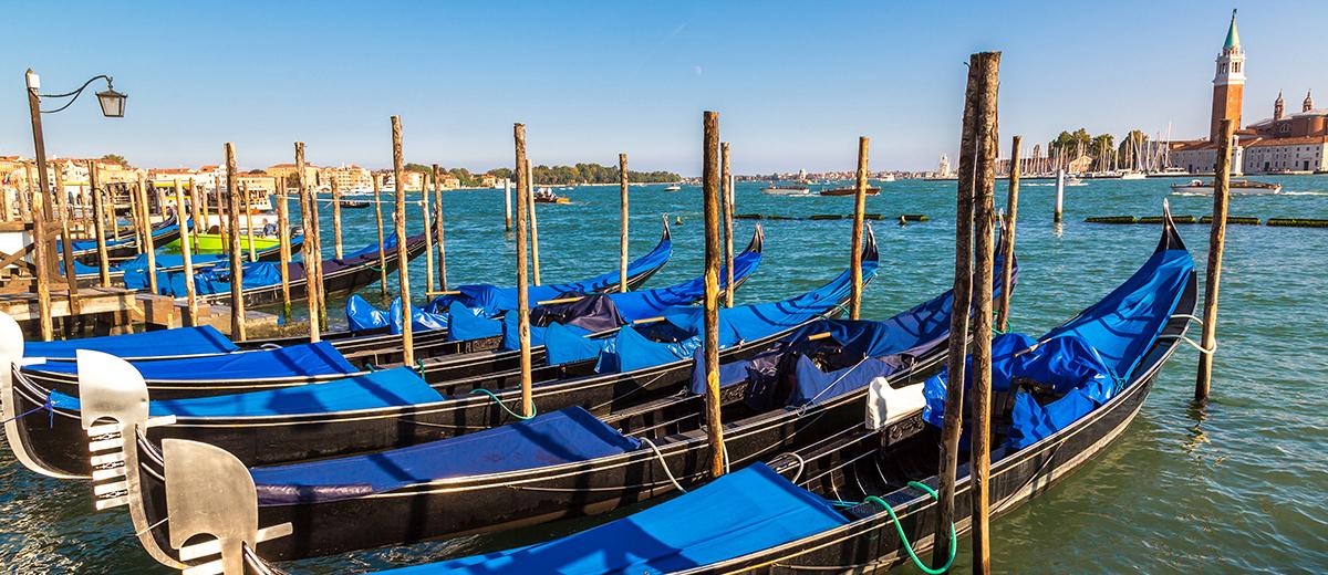 Las góndolas también son venecianas, pero no vamos a hablar de ellas