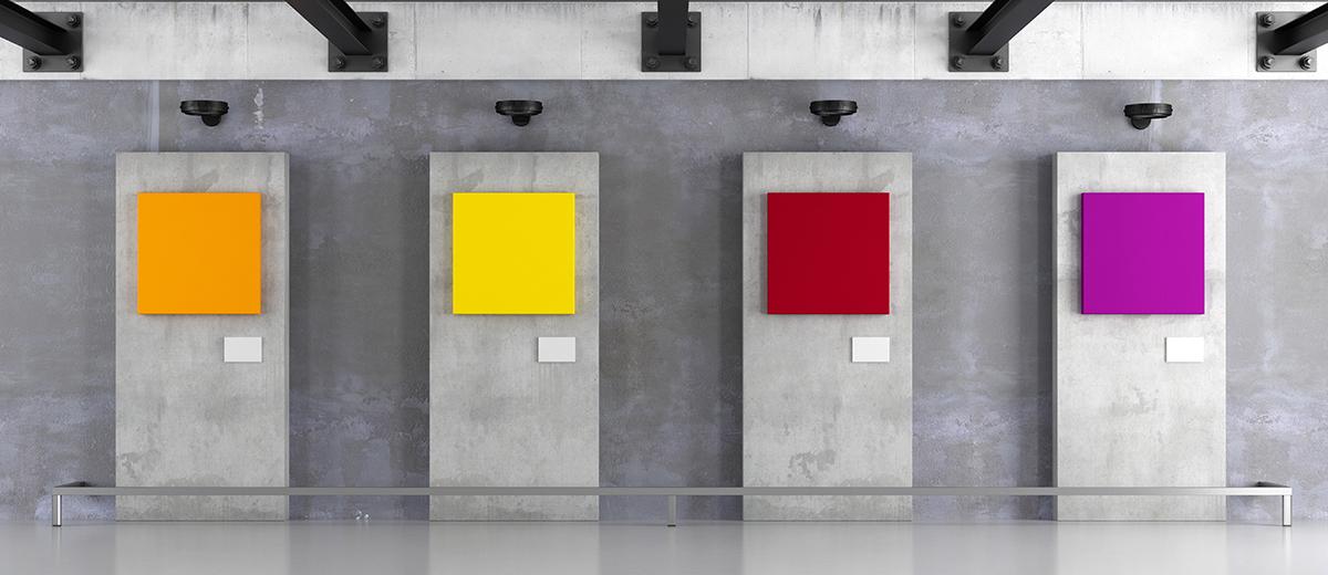 Cuelgue de sus paredes las obras de arte más modernas