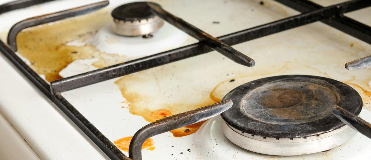 Elimina los restos de grasas y aceites