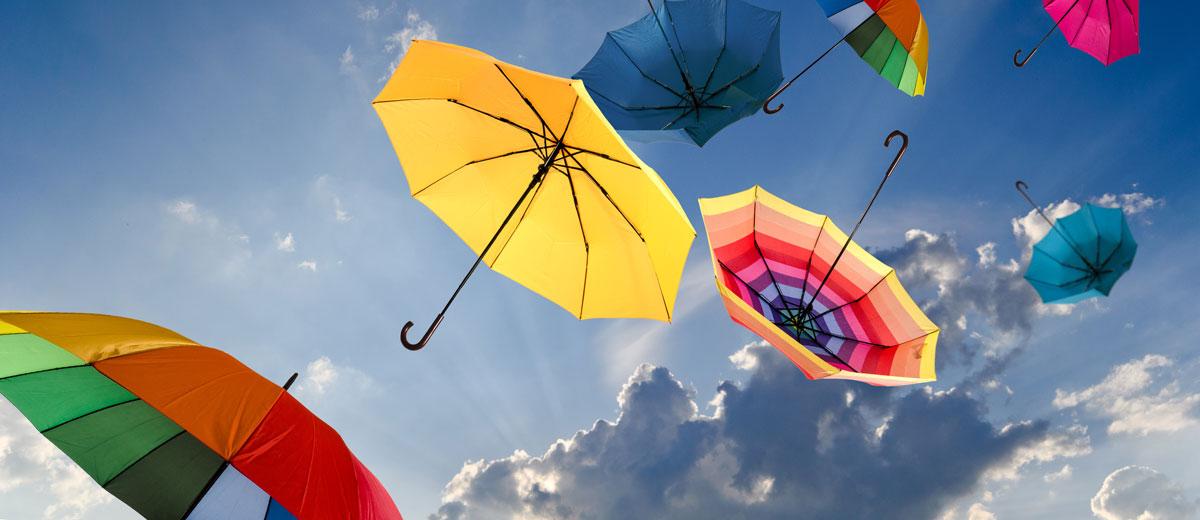 Ideales para proteger en días de lluvia y de sol