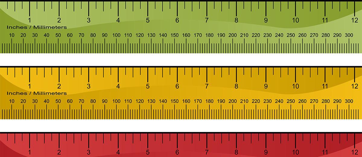 Muchas formas de medir que tienen muchas posibilidades
