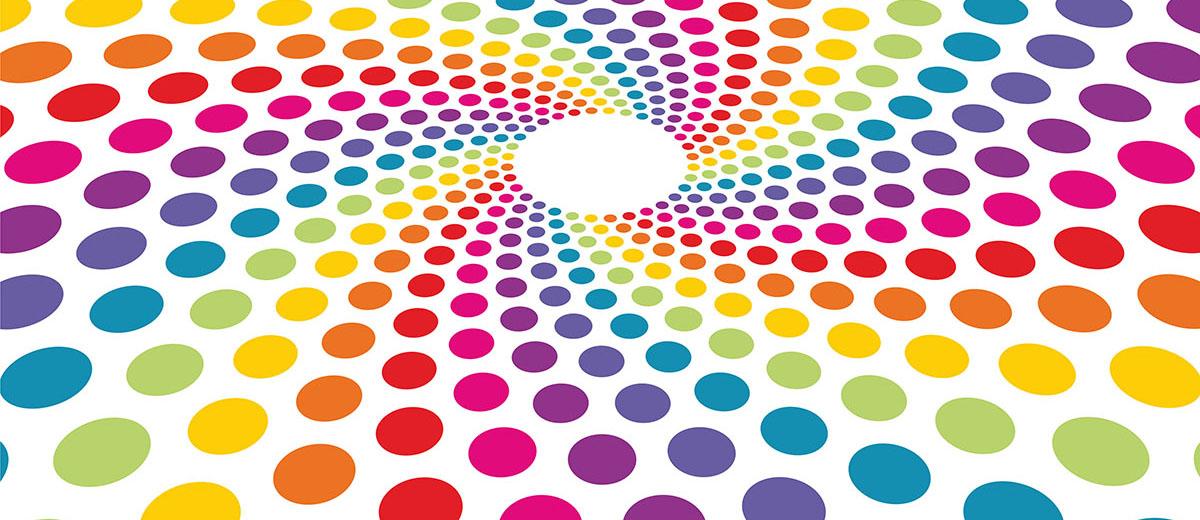 Tenemos círculos de todos los colores