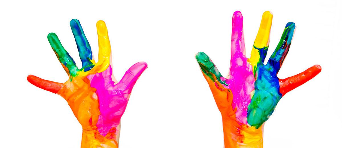 La creatividad en sus manos