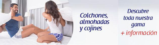 colchones, almohadas y cojines