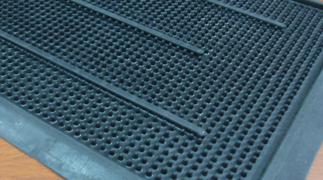 suelos felpudos gomas