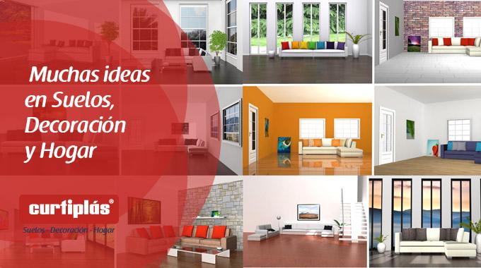 Curtiplás: muchas ideas en suelos, decoración y hogar