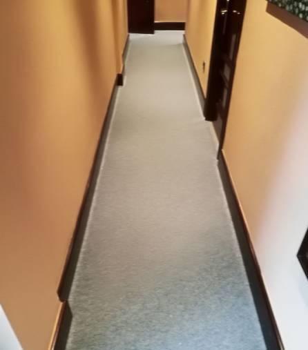 suelo moqueta pasillo